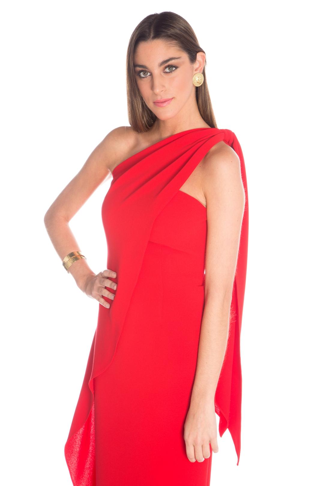 front - Vestido Casa Blanca Red