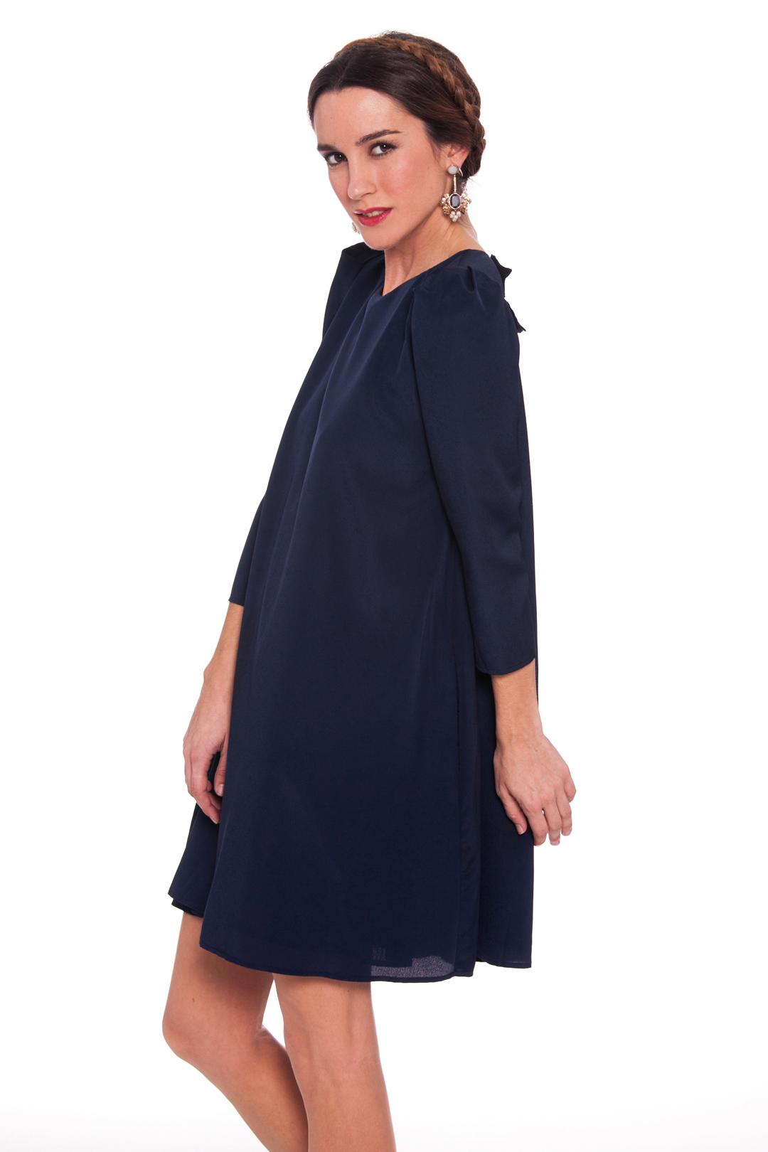 front - Vestido Blue Doll