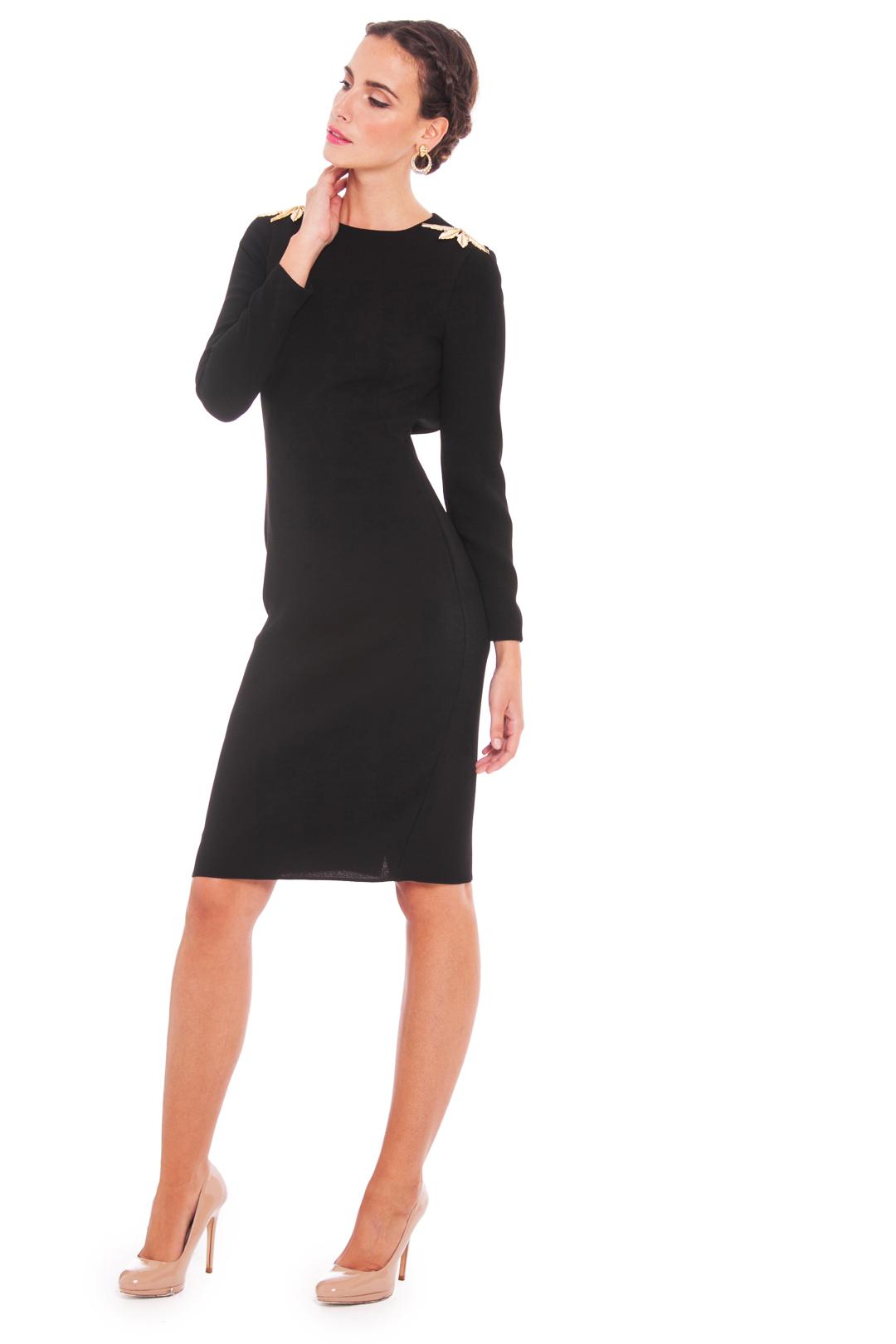 front - Vestido Black María