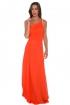 back - Vestido Sparkling Orange