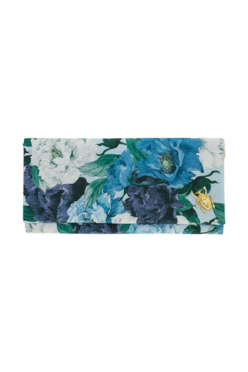 Cartera Blue Peonies