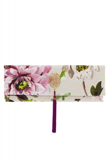 Cartera Baguete Floral