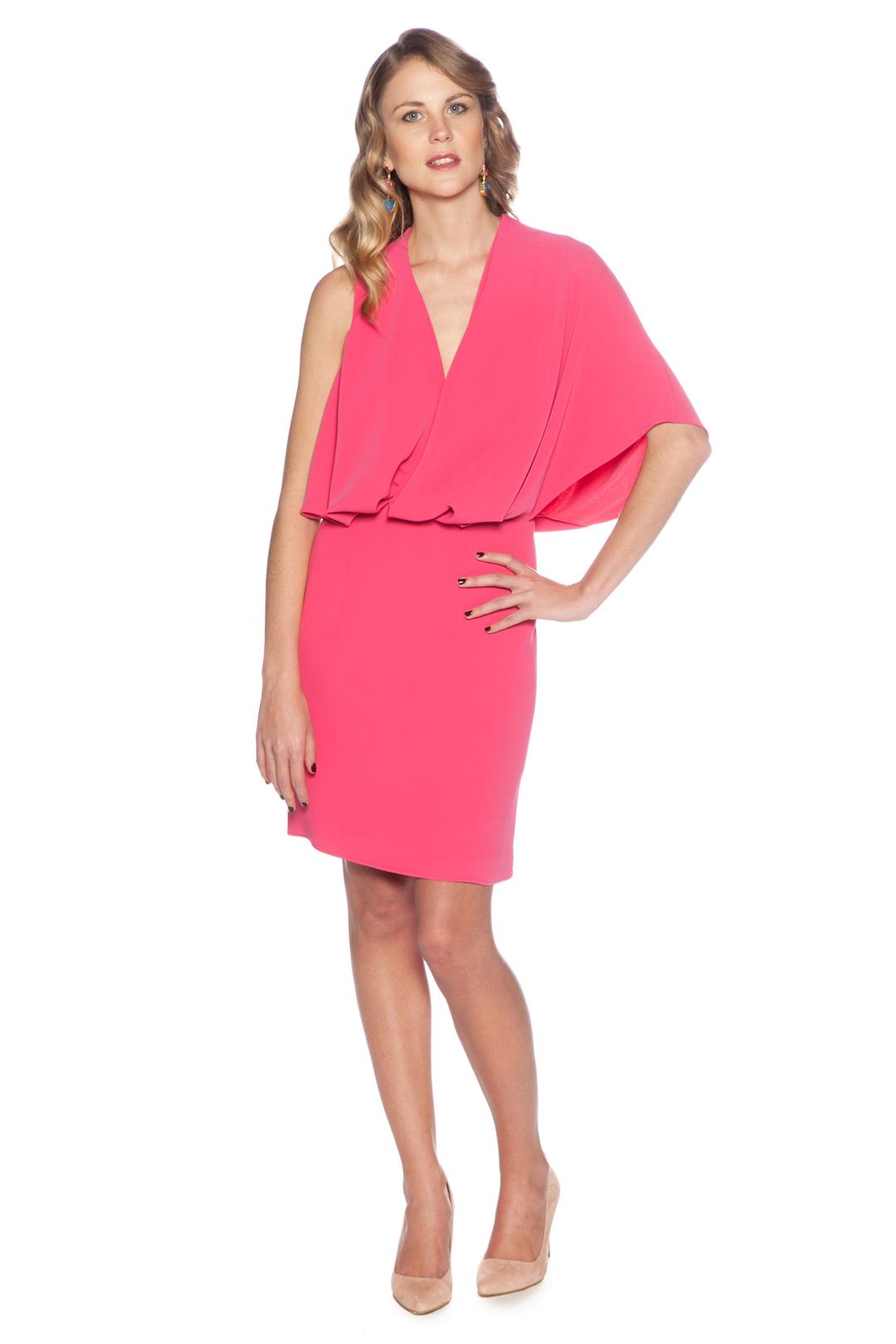 front - Vestido Rosa Fluor