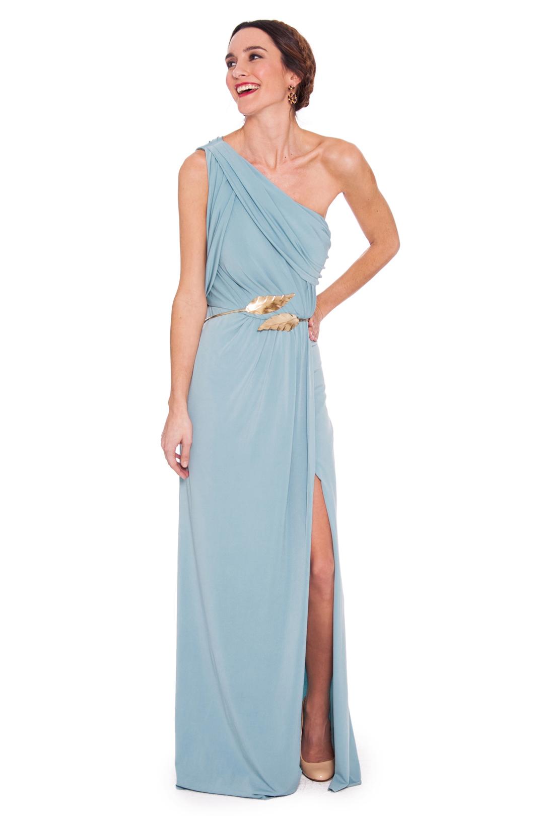 front - Vestido Greek Asimetric