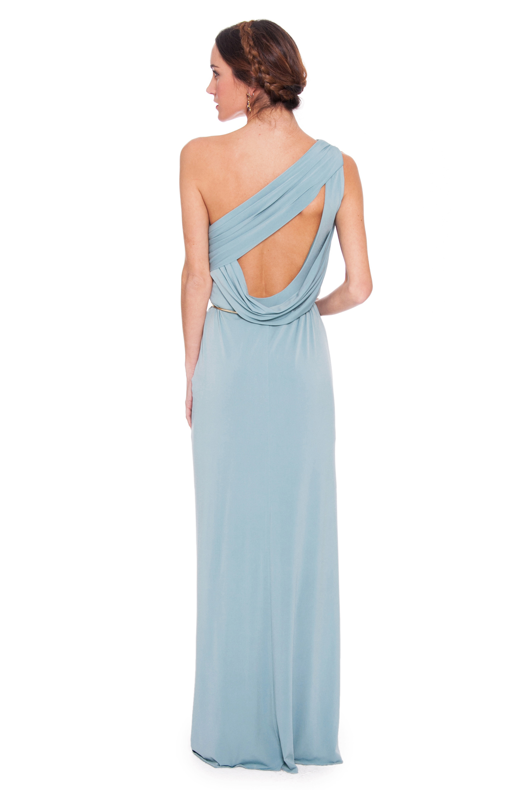 back - Vestido Greek Asimetric