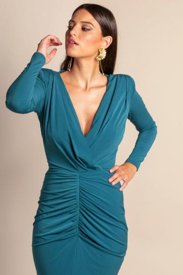 Vestido Eugenia Verde Inglés