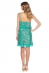 back - Paillettes Verde