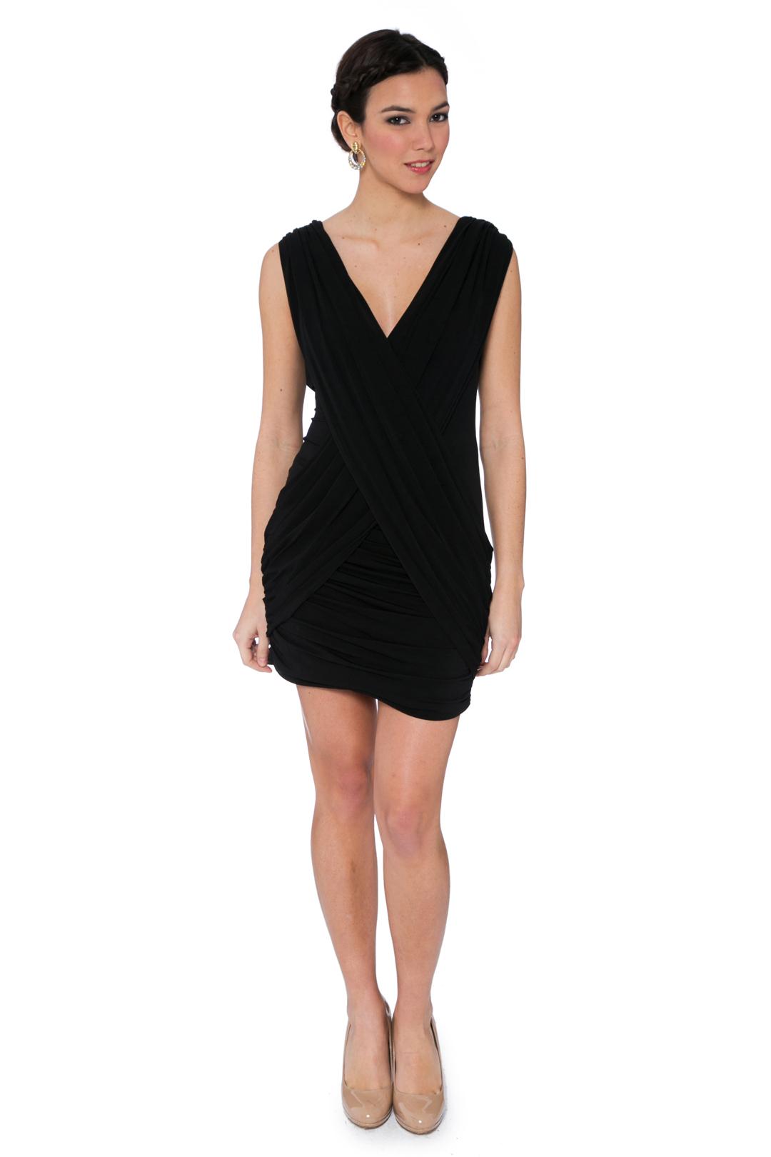 back - Vestido Black Cross
