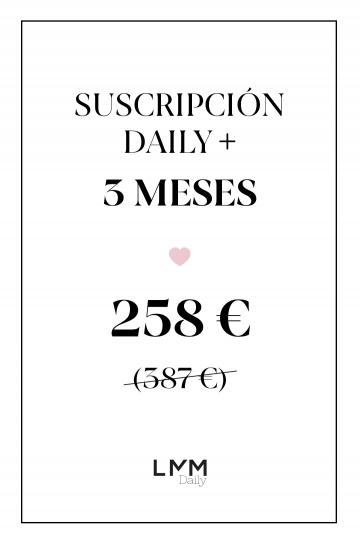 Suscripción Daily 3 meses 4 productos