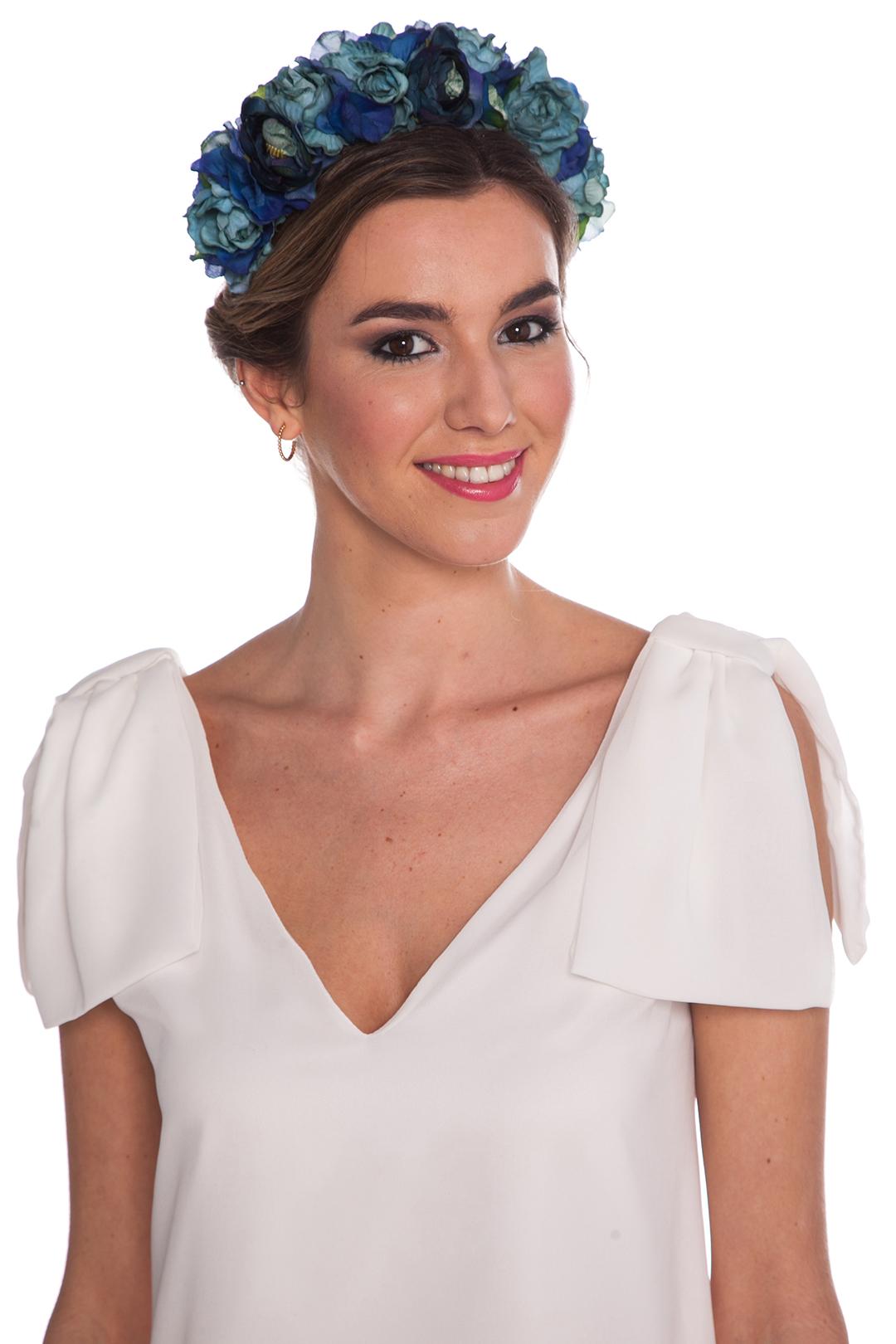 front - Corona Anémona Blue