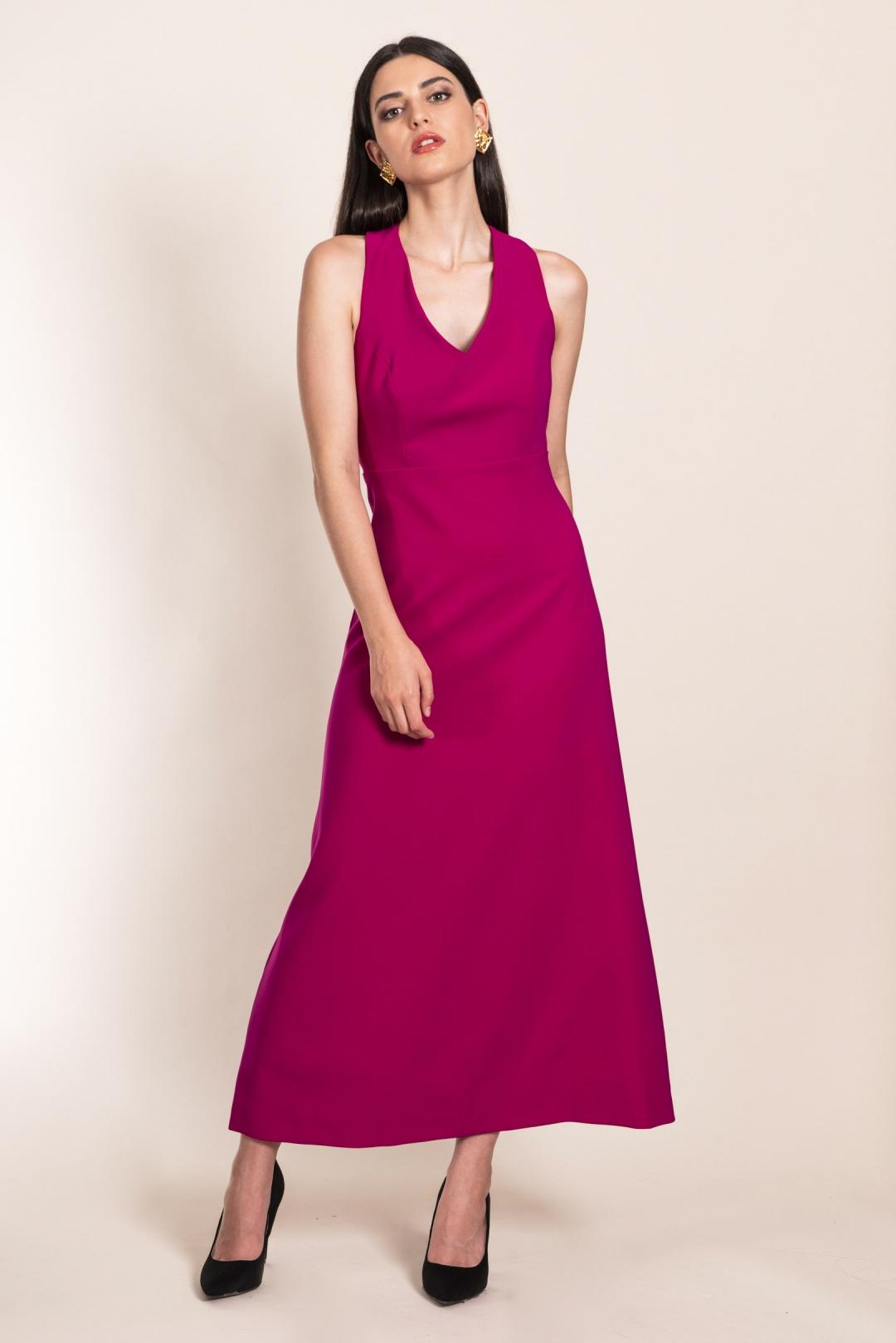 front - Vestido Amanda Buganvilla