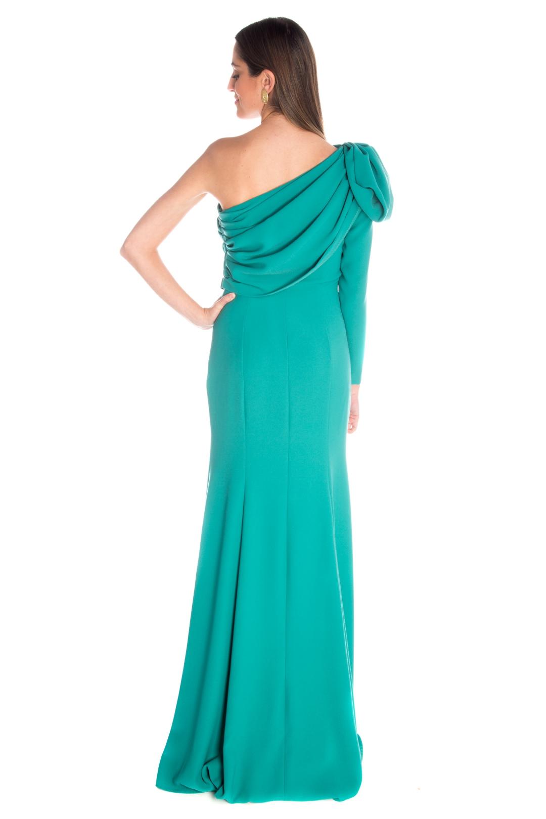 left - Vestido Belisa Verde