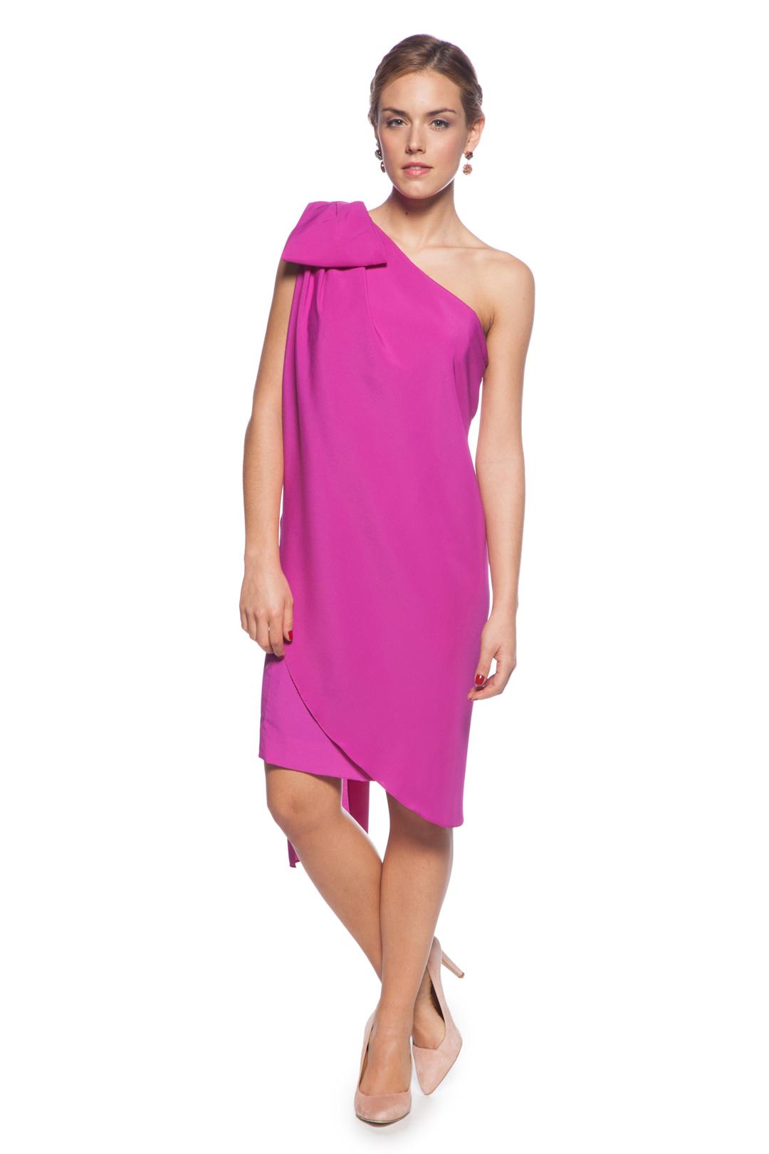 Color Nude Fucsia Alquiler De Vestidos La Más Mona