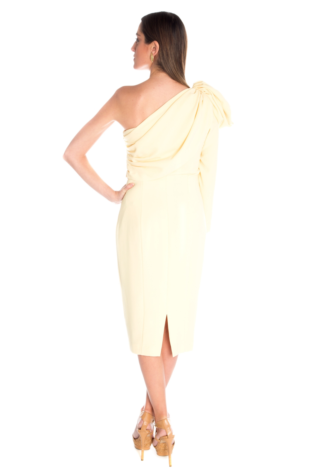 left - Vestido Belisa Amarillo