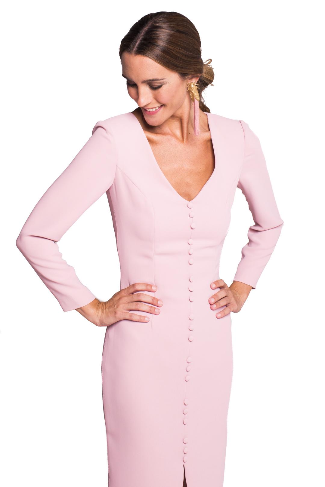 front - Vestido Gales Pink