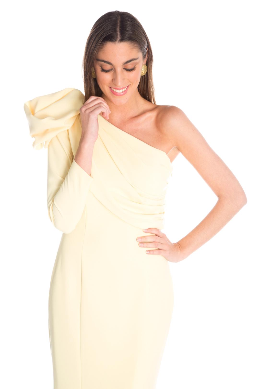 front - Vestido Belisa Amarillo
