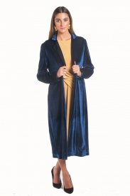 Abrigo Emmanuelle Azul