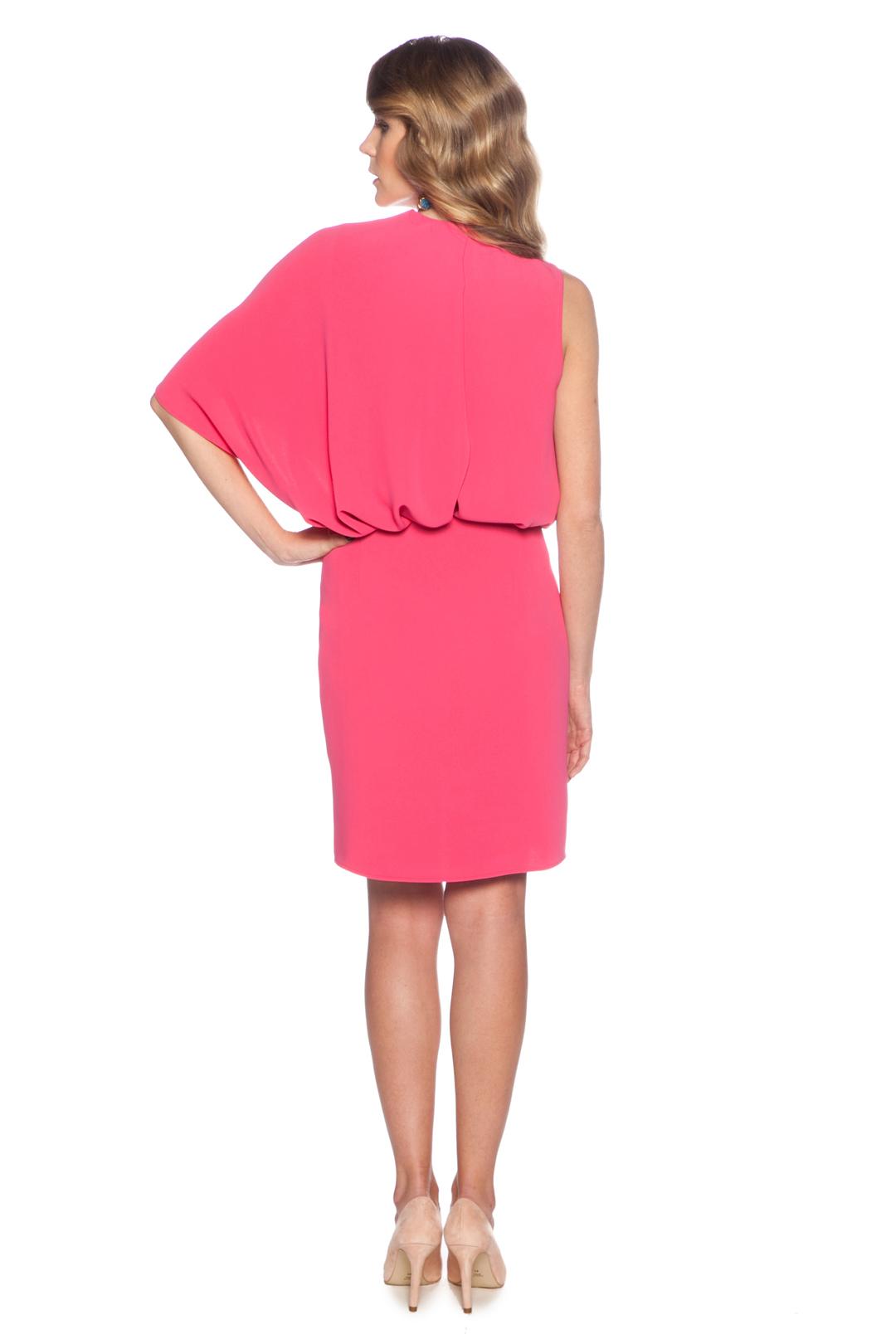 back - Vestido Rosa Fluor