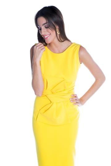 Vestido Allison Amarillo