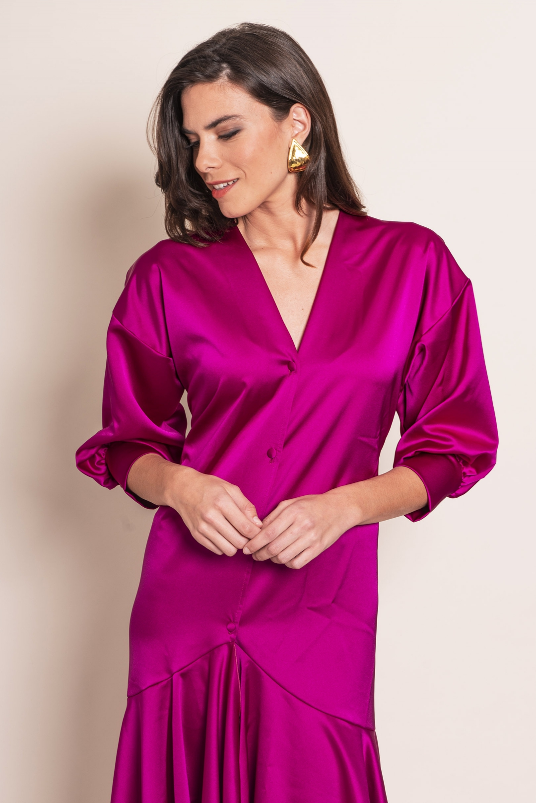 front - Vestido Kimono Nazaret