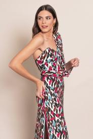 Vestido Franchi Print