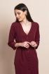 Vestido Escarlata Burgundy