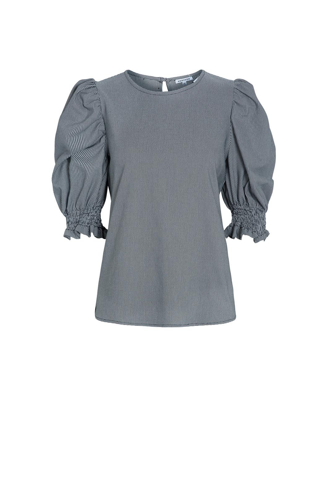 front - Camisa Fallon Vichy