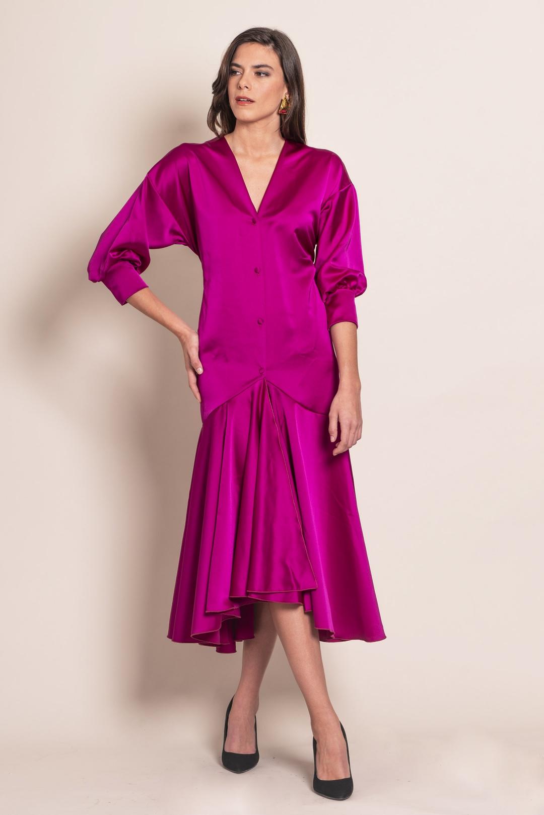 back - Vestido Kimono Nazaret