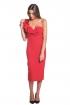 back - Vestido Victoria Rojo