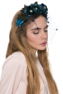 back - Diadema Secret Garden Blue