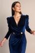 front - Vestido Madeleine Marino