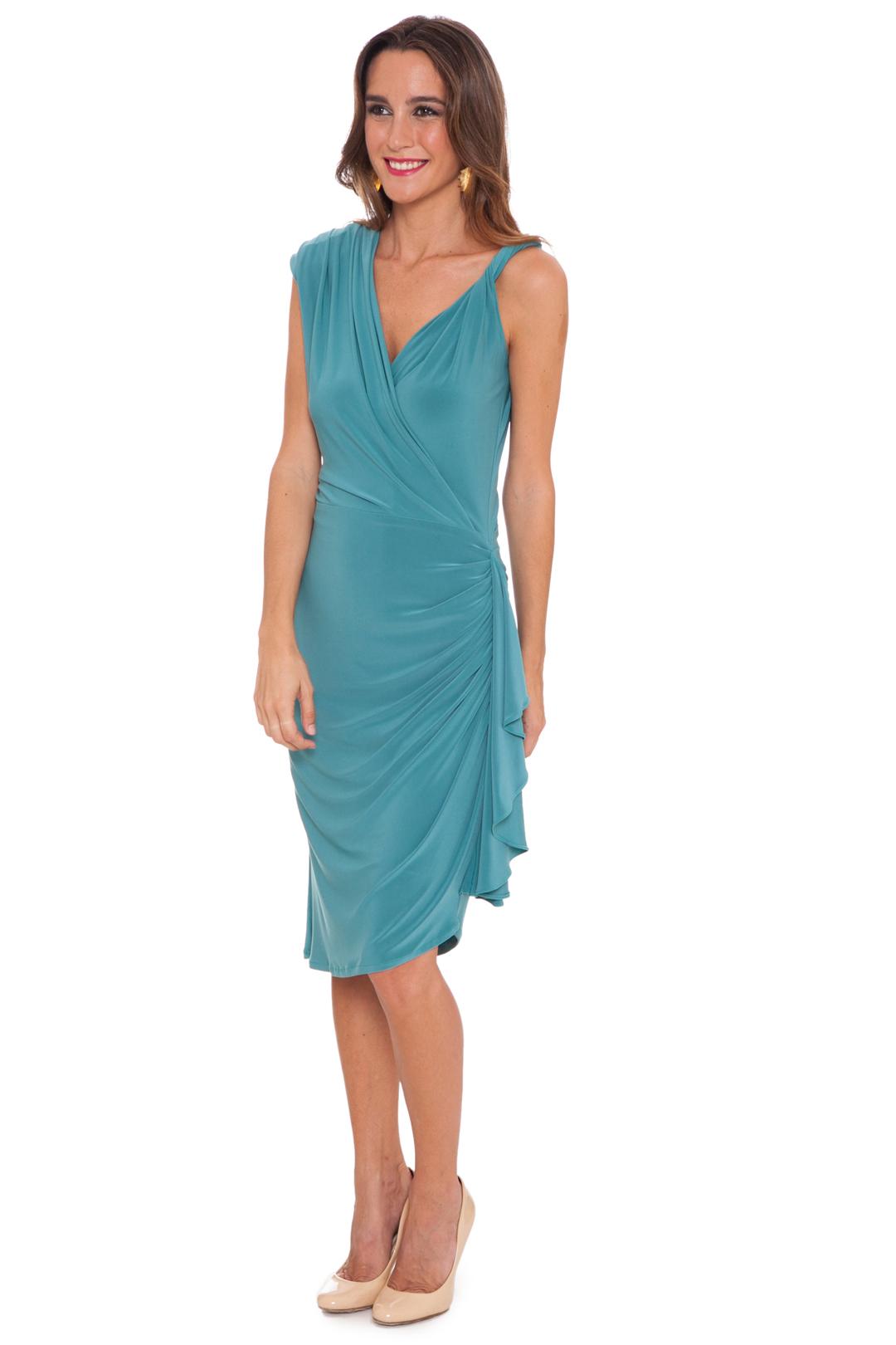 back - Vestido Lavin Green