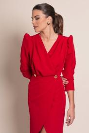 Vestido Ondina Rojo