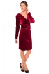 back - Vestido Grape Velvet