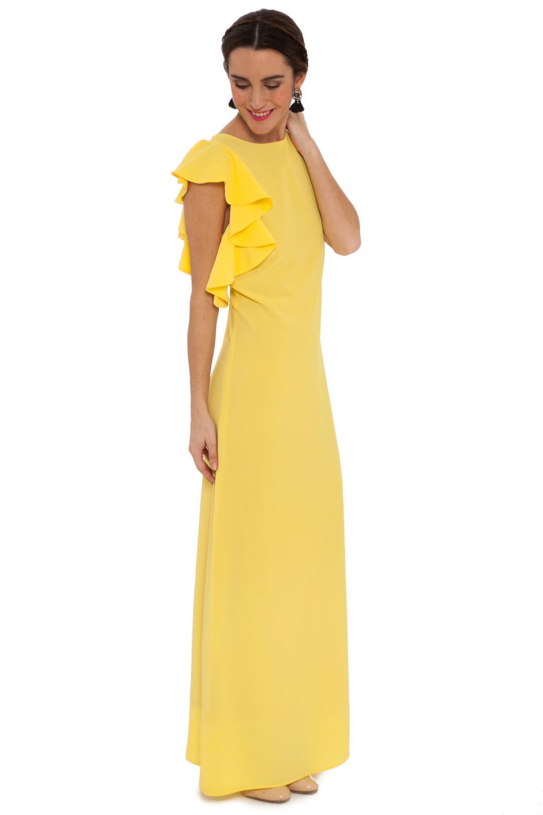 back - Vestido Lemon Volante