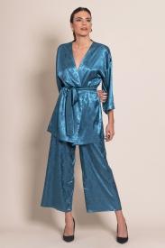Conjunto Kimono Jacquard
