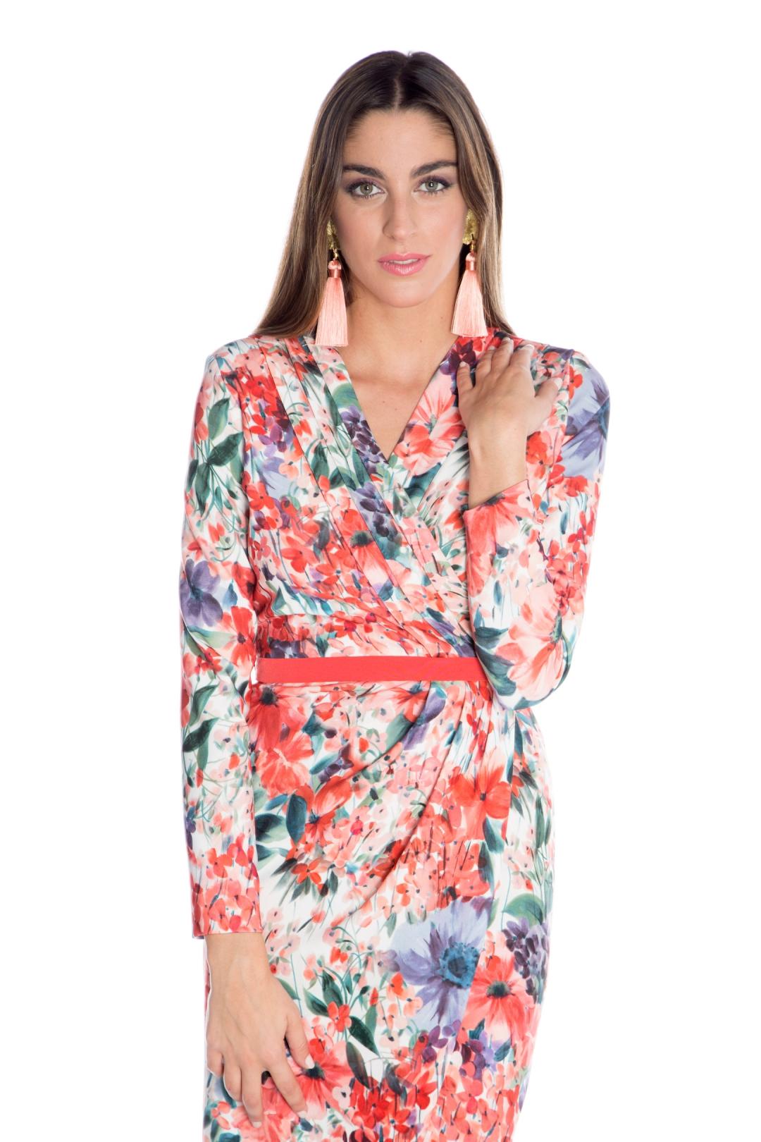 front - Vestido Marcela Floral