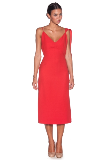 Vestido Adela Rojo