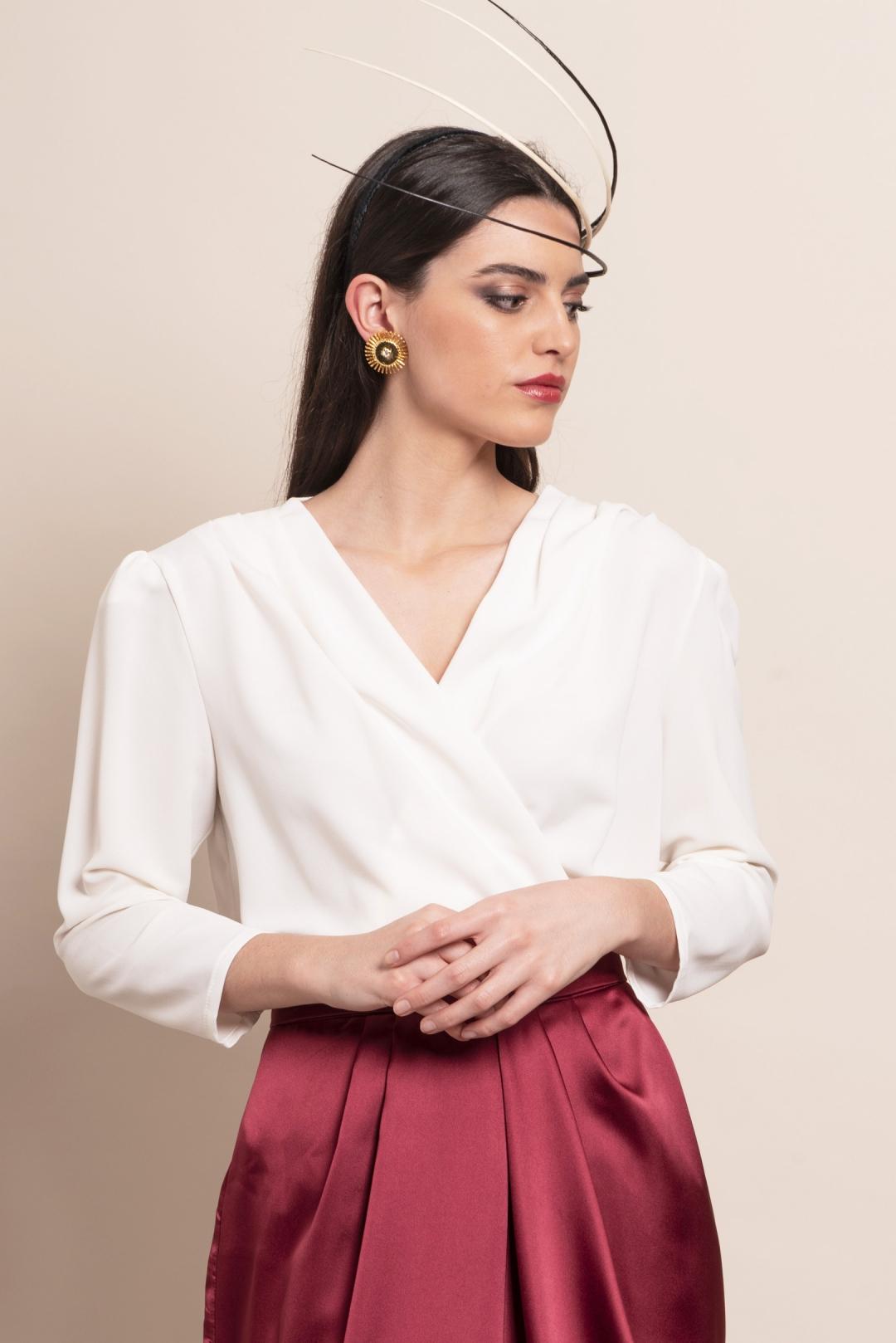 back - Tocado Inés